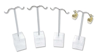 Acrylic Earring Tree Display 4 Piece Set