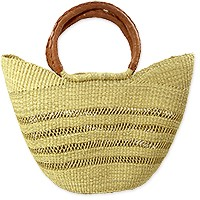 Handmade Rwandan Basket/Bag 20