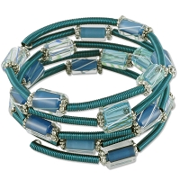 Aqua Waves Bracelet Project