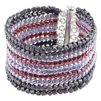 Regal Rows Bracelet