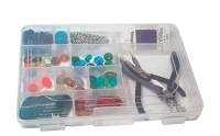 11 Inch 20 Compartment Clear Storage Box
