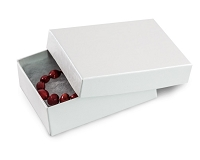 White Swirl Jewelry Box #32