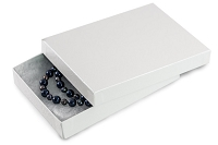 White Swirl Jewelry Box #53