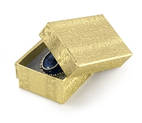 Gold Foil Jewelry Box #21