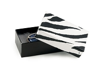 Zebra Print Jewelry Box #21