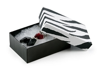 Zebra Print Jewelry Box #32