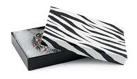 Zebra Print Jewelry Box #53
