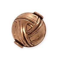 Designer Copper Bead 12x14mm (1-Pc)