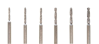 Diamond Coated Drills 6pc Set