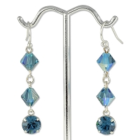 True Blue Earring Project
