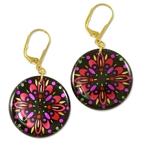 Colorburst Earring Project