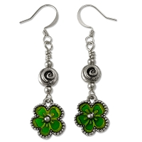 Luck o' the Irish Earring Project