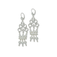 Crystal Moonlight Chandelier Earrings