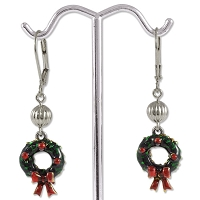 Holiday Wreaths Earring Project