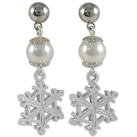 Snow Crystal Earring Project