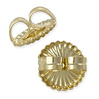Ear Back Extra Heavy Weight 14k Yellow Gold (1-Pc)