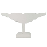 Earring Display Stand White (10 Pairs)