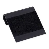 Hanging Earring Card - Black Velour-Flocked Plastic 1x1 (100-Pcs)