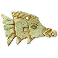 Egyptian Fish Pendant 2