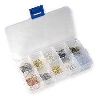 190 Piece French Hook Ear Wire Assortment