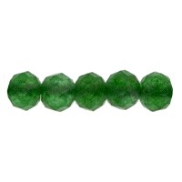 Green Onyx Faceted Beads 2mm (13 Inch Strand)