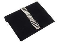 Jewelry Display Bracelet Ramp Black 10