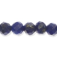 Lapis Faceted Beads 2mm (13 Inch Strand)
