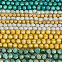 Emerald Road Mixed Pearls (10 Strands)