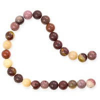 Moukaite Round Beads 6mm (15