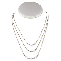 Triple Hue Necklace