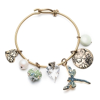 Blooming Spring Bangle Bracelet