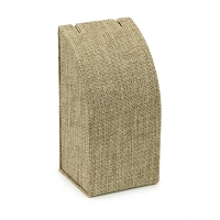 Burlap Padded Neck Display Stand 5