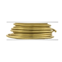 Red Brass Wire 12ga Round (10-Ft)
