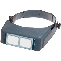 OptiVISOR Magnifier #4 (Glass Lenses)