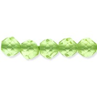 Peridot Faceted Beads 2mm (13 Inch Strand)