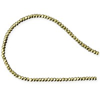 Pyrite Faceted Beads 2mm (13 Inch Strand)