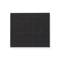 Half Size Black Foam 36 Ring Pad Insert