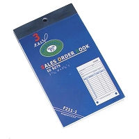 Sales Order Receipt Book