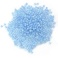 Czech Seed Bead 11/0 Light Blue Turquoise (10 Grams)