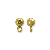 Round Smart Bead with Ring 3mm Gold Filled (1-Pc)