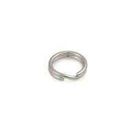 6.5mm 14k White Gold Split Ring (1-Pc)