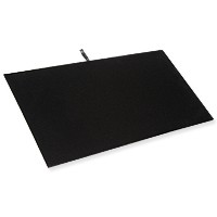 Standard Size Economy Black Velvet Display Pad