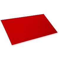 Standard Size Plush Red Velvet Display Pad