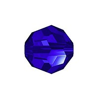 Swarovski Crystal 5000 10mm Majestic Blue Round Bead (1-Pc)