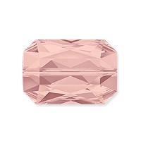 Swarovski Crystal Emerald Cut Bead 5515 18x12mm Blush Rose (1-Pc)