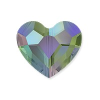 Swarovski Crystal Love Bead 5741 12mm Crystal Paradise Shine (1-Pc)