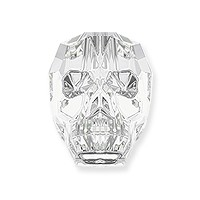 Swarovski Skull Bead 5750 13mm Crystal (1-Pc)