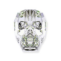Swarovski Skull Bead 5750 13mm Crystal AB (1-Pc)