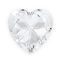 Swarovski Heart Pendant 6228 18mm Crystal (1-Pc)