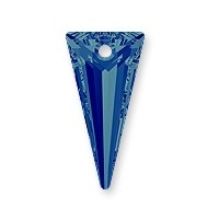 Swarovski Spike Pendant 6480 18mm Crystal Bermuda Blue (1-Pc)